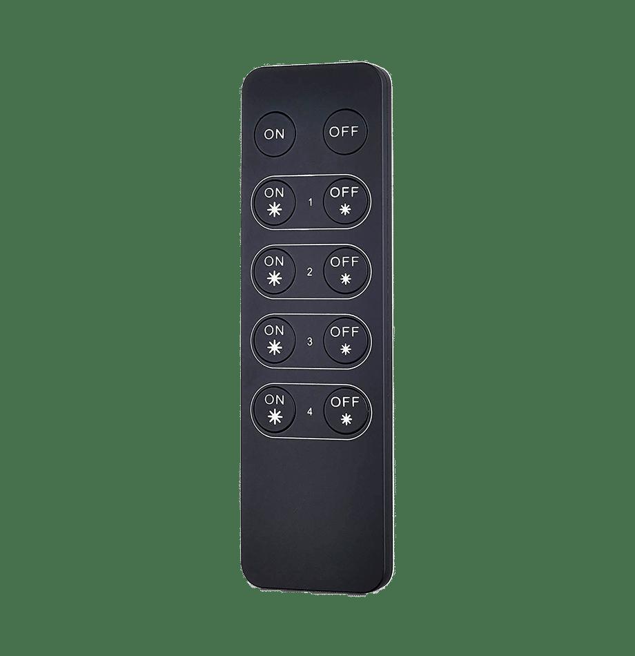 4 Soner RF fjernkontroller