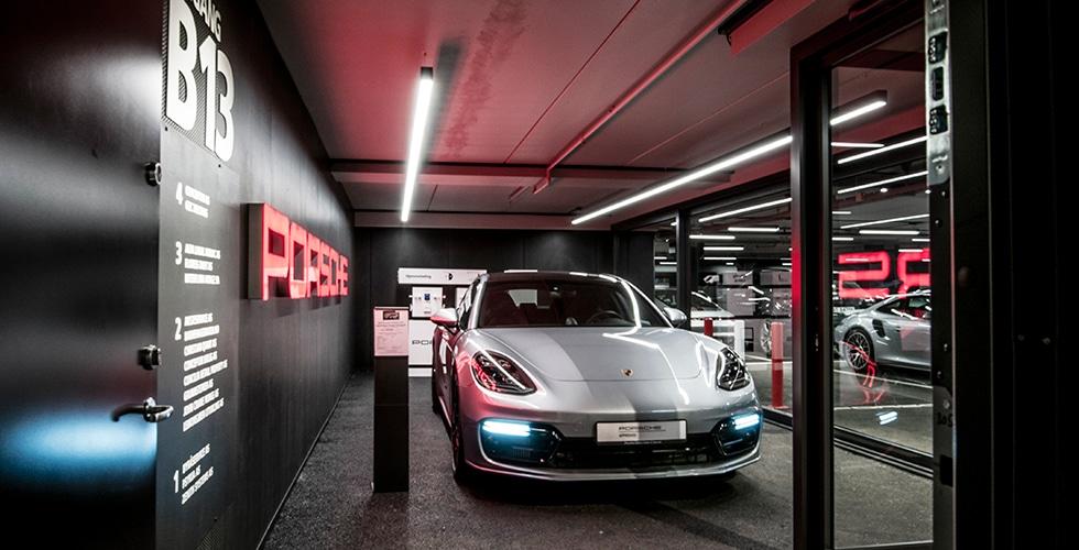 Et rent og stramt uttrykk hos Porsche