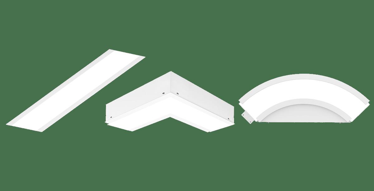 Simple LED, innfelte paneler